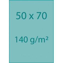 Affiches 50x70 140 g/m²