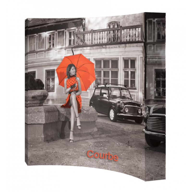 stand parapluie courbe