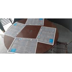 Set de table papier