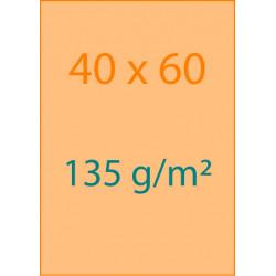 Affiches 40x60 135 g/m²