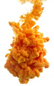Fumée orange